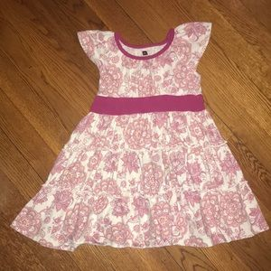 Tea Collection 3T Pink Flowered Dress